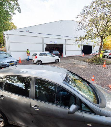 Bekladde corona-teststraat in Breda wordt beveiligd, daders nog niet gepakt