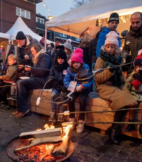 Slenteren langs 48 kraampjes op wintermarkt in Belcrum Breda