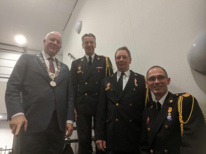 Burgemeester Joosten, Stephan Wevers, Jos Haarman & Jeroen Bijen