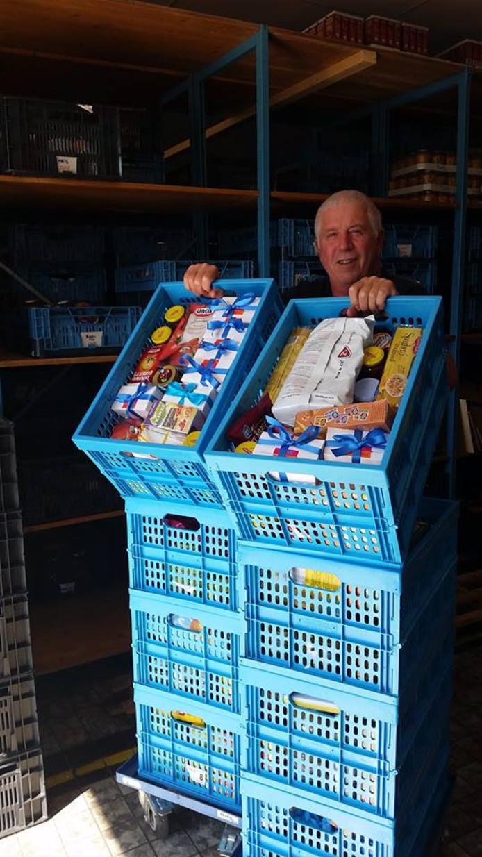 De Voedselbank Zeist verstrekt wekelijks voedselpakketten aan zo'n 120 gezinnen.