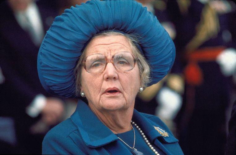 Koningin Juliana in 1976. Beeld anp