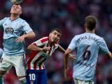 Atlético Madrid pakt slechts een punt tegen Celta