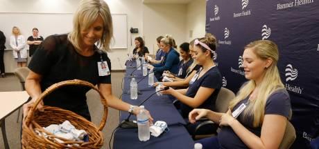 16 verpleegsters tegelijk zwanger in Amerikaans ziekenhuis