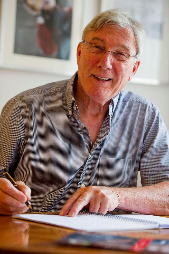 Jan van Rijthoven, hier op een foto uit 2013.