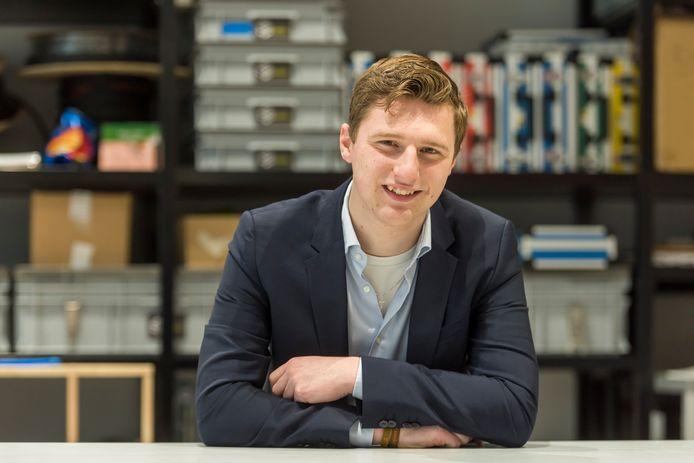 Dirk van Meer geeft leiding aan studentenonderneming CORE.