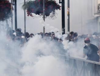 Actievoerders gooien stenen, politie gebruikt traangas en waterkanon bij G7-top in Biarritz