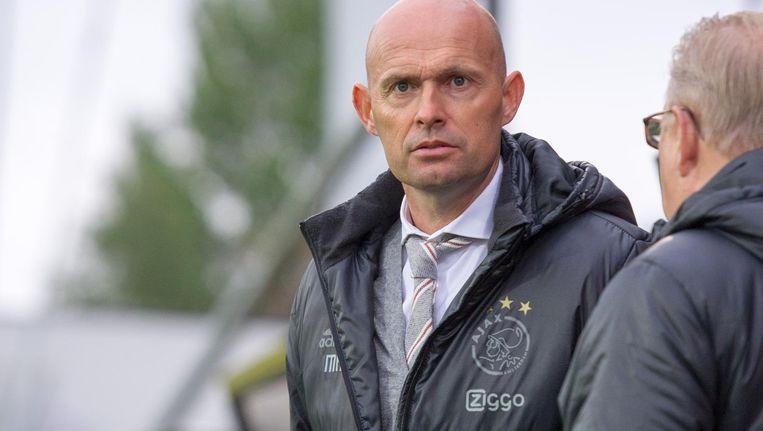 De nieuwe hoofdtrainer Marcel Keizer vertrekt maandag met de selectie van Ajax naar Oostenrijk Beeld ANP