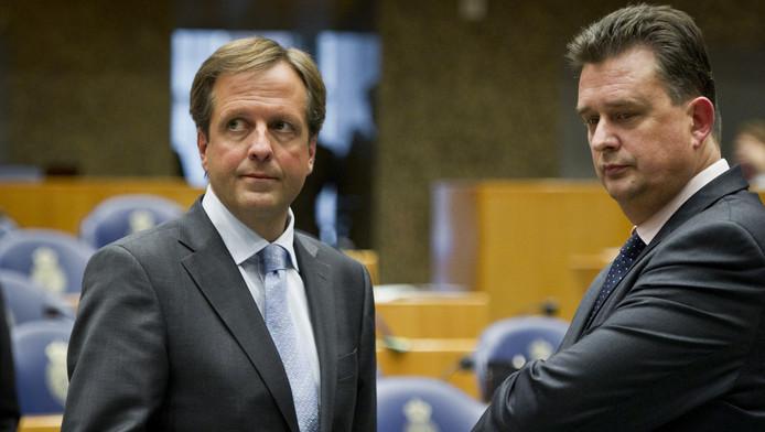 Links: Alexander Pechtold. rechts: Emile Roemer.