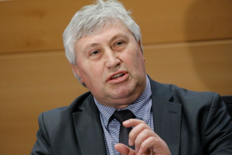 Freddy Roosemont, de topman van de Dienst Vreemdelingenzaken.