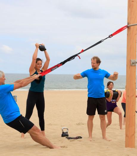 Je spieren trainen en zweten in Cadzand-Bad, maar wél met uitzicht op zee