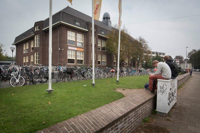 Het Montessori College aan de Utrechtseweg in Arnhem.