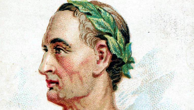 De Lage Landen, inclusief het huidige België en een stukje Duitsland ten westen van de Rijn, werden voor een groot deel ontvolkt door de Romeinen, onder leiding van Caesar. Beeld Getty