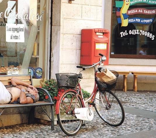 'Dolce far niente' in Cividale del Friuli.