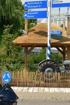 Betuwse traditie op Tielse rotonde van 'kneuterig' tot 'authentiek'