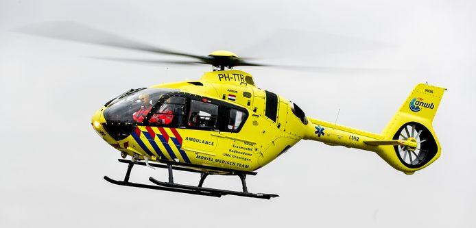 Een traumahelikopter.