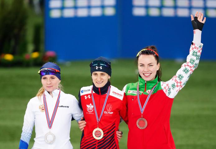Natalia Voronina (Rus)Martina Sablikova  (Tsj) Maryna Zuyeva (W-Ru)