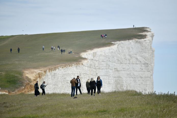 Beachy Head, Eastbourne, Engeland