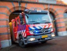 Kliko's in kelder van kledingwinkel The Sting in brand