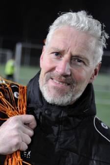 Helwich Machielsen van Blauw Wit'66 is voetbaltrainer bij toeval
