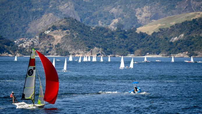De olympische lokatie in Rio voor het zeilen.