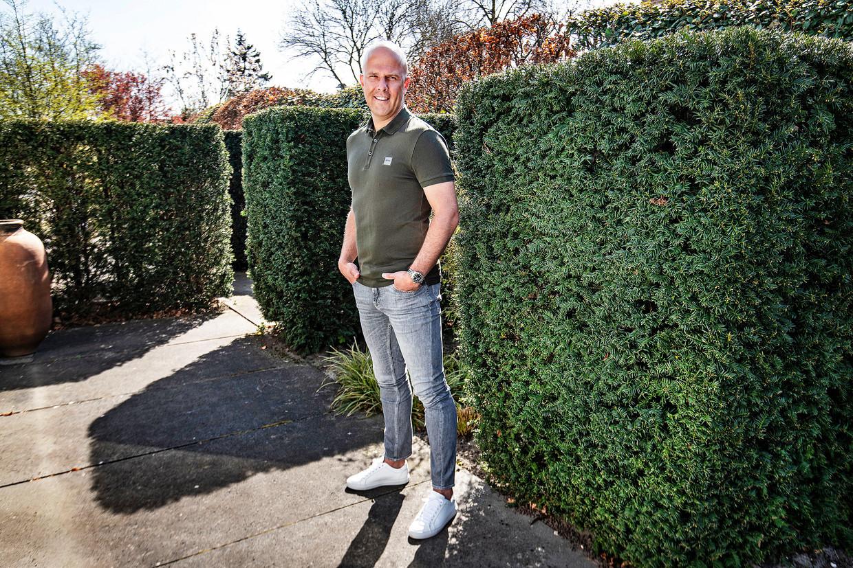Slot, de talentvolle coach van AZ.  Beeld Guus Dubbelman / de Volkskrant
