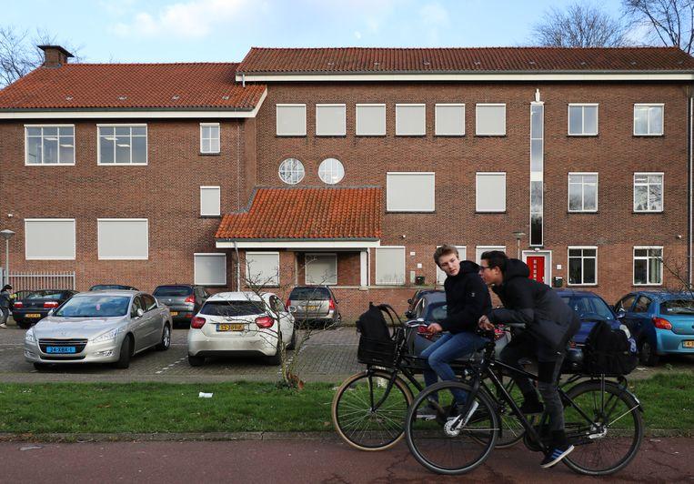 Het gebouw van de School voor Persoonlijk Onderwijs in Amsterdam. Beeld Fouad Hallak