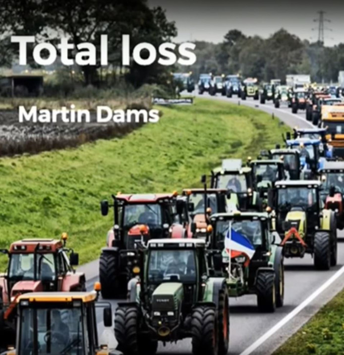 Martin Dams uit Westerhaar heeft een lied uitgebracht voor de boeren.