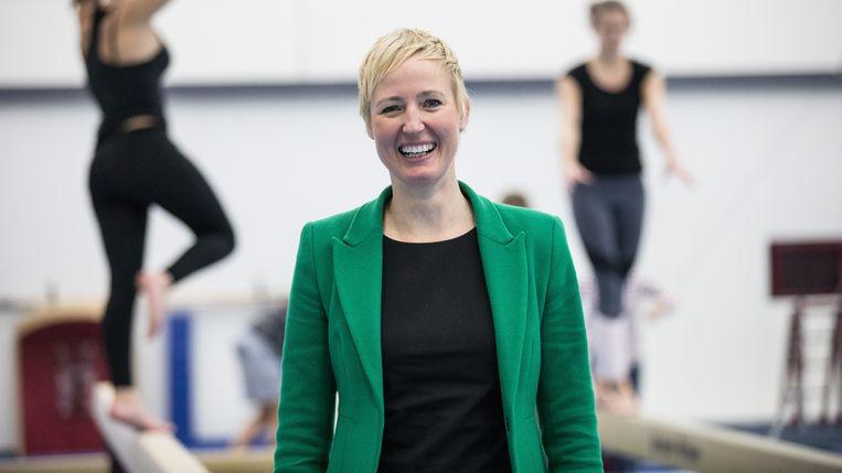 Marieke van der Plas: 'We kennen in de sport maar het topje van de ijsberg van seksuele intimidatie en misbruik'.  Beeld Dutch Gymnastics/KNGU
