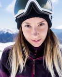 Freestyle-skiester Isabelle Hanssen.
