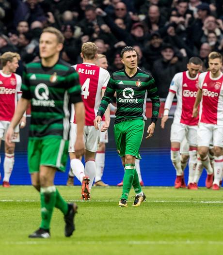 Alleen beker kan seizoen Feyenoord nog redden na gebruikelijke nederlaag in Arena