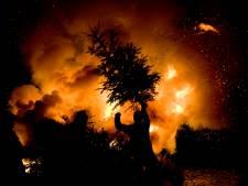 De kerstboomverbranding in de dorpen van West Maas en Waal sneuvelt nu ook