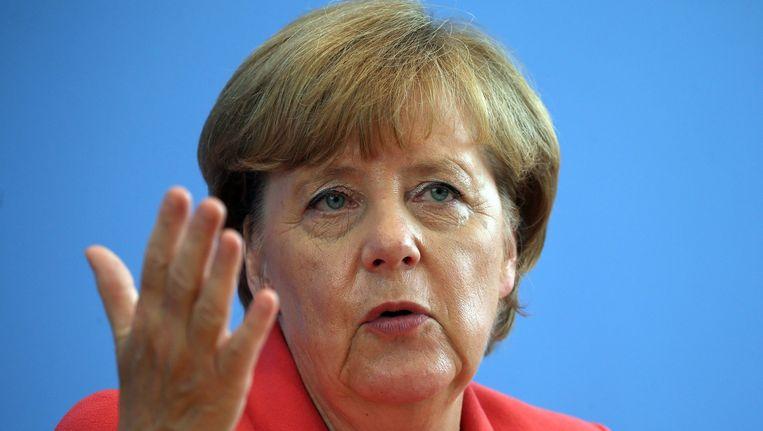 Angela Merkel. Beeld anp