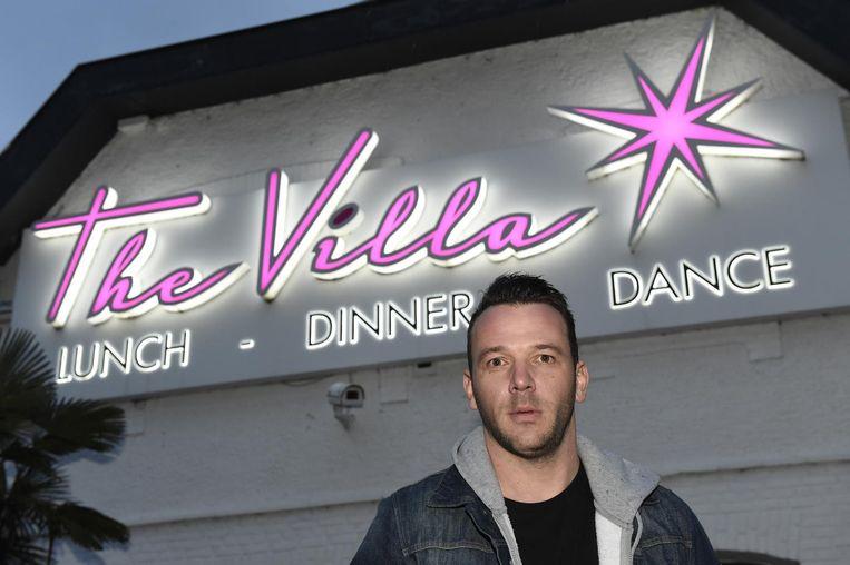 Vincent Van Trier, eigenaar van The Villa.