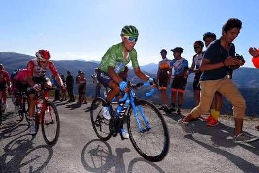 Quintana kon de topfavorieten niet volgen.