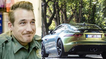 """Andy Peelman neemt afscheid van zijn gepersonaliseerde Jaguar: """"Met pijn in het hart"""""""