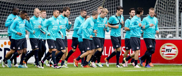 PSV traint eind juli een aantal keer op het complex van WWNA.
