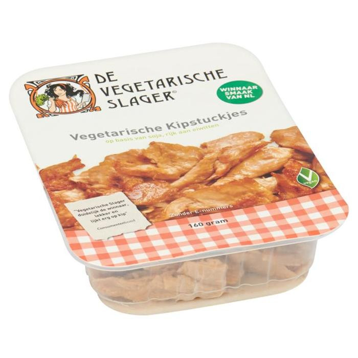 Namen als Kipstuckjes of Gerookte Speckjes mogen straks niet meer bij de Vegetarische Slager, aldus de NVWA.