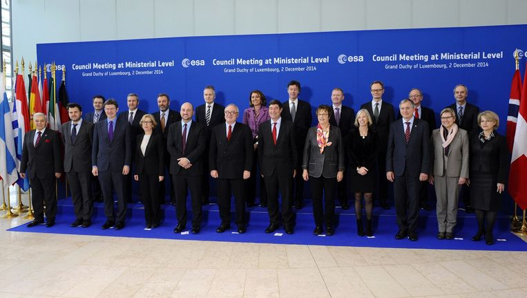 De ESA-top ging vandaag van start.