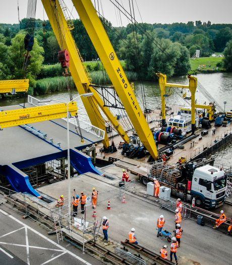 Wantijbrug ook weer open voor scheepvaart