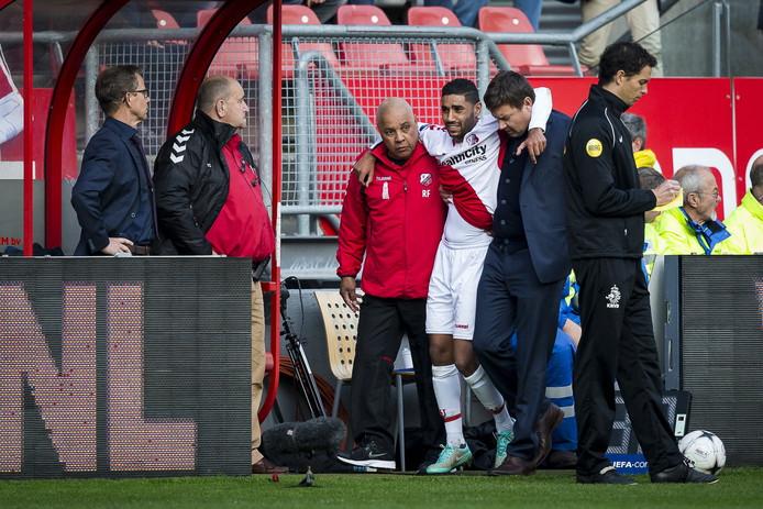 FC Utrecht moet reserve-aanvoerder Anouar Kali tot de winterstop missen vanwege een afgescheurde hamstring.