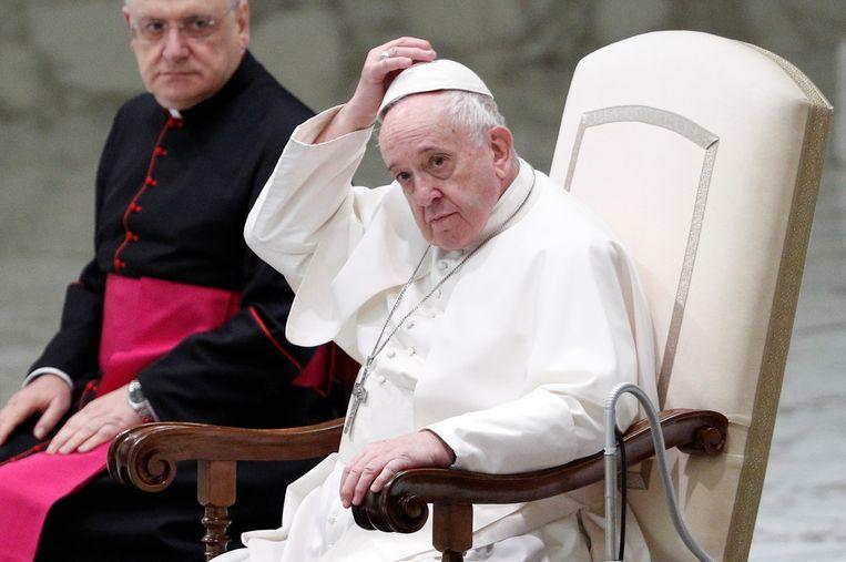 Paus Franciscus. Beeld REUTERS