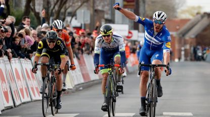 Ook de Waalse seizoensopener is voor Deceuninck-Quick.Step: Sénéchal is de beste in GP Samyn