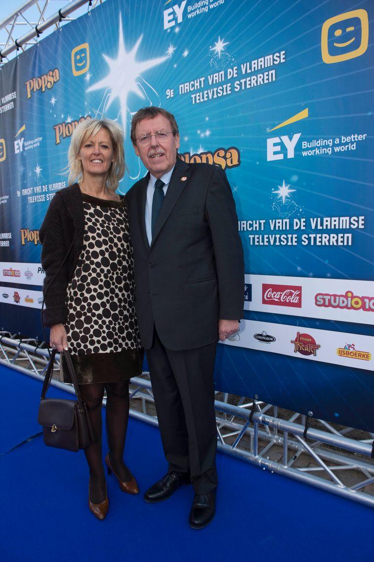 Siegfried Bracke met zijn vrouw Marina.