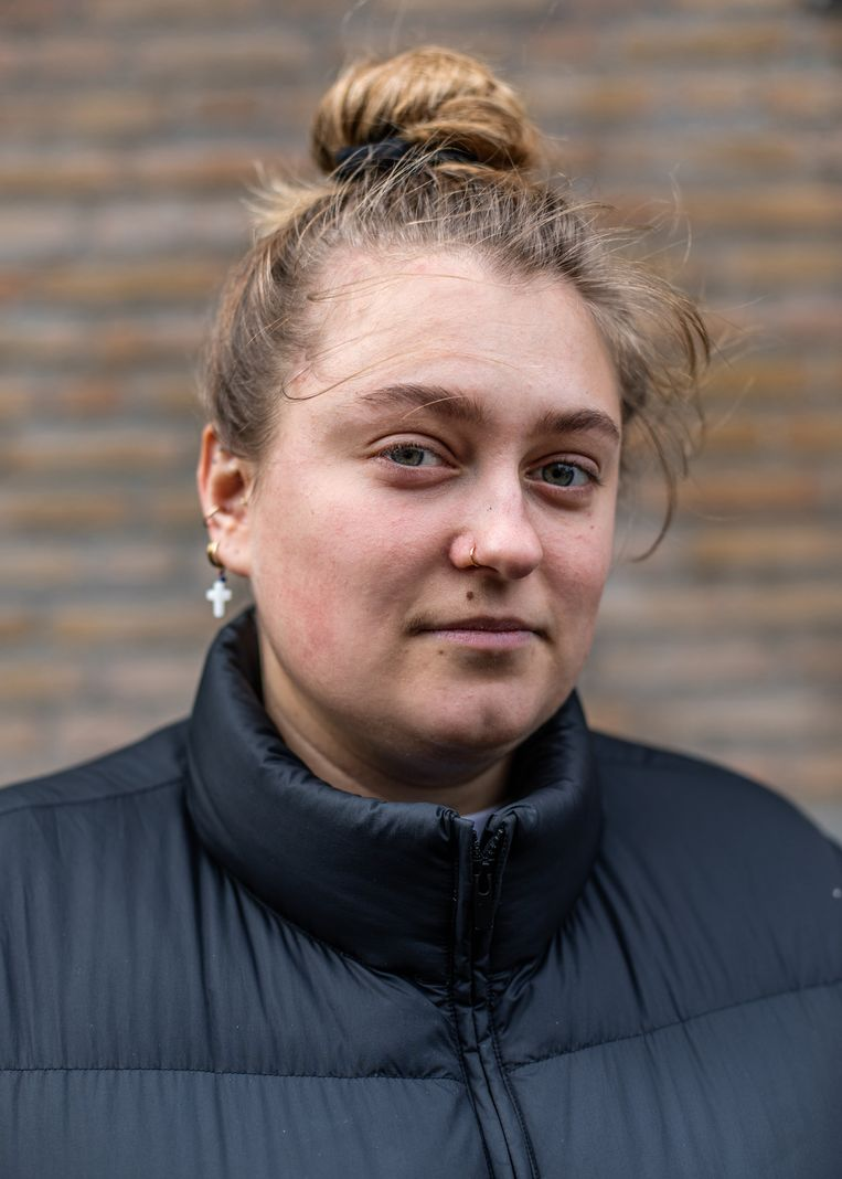 Sophie Steltman (21). Beeld Lin Woldendorp