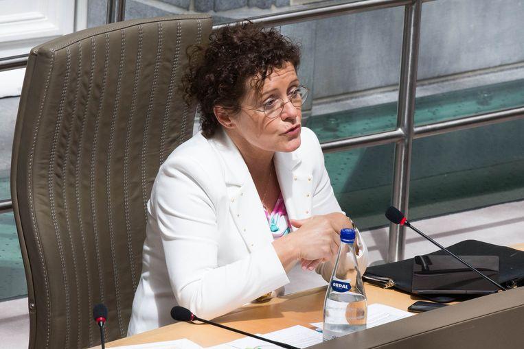 Vlaams Verkeersminister Lydia Peeters (Open Vld)