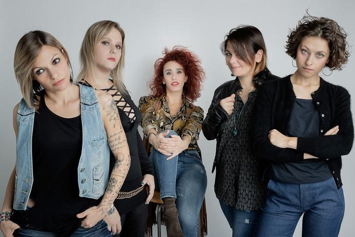 De Italiaanse vrouwenband Strange Kind of Women.