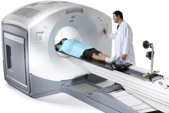 Een CT-scanner van GE Healthcare.