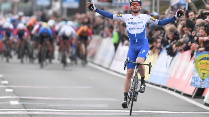 Weer prijs voor Deceuninck-Quick.Step in Kuurne, één jaar na Jungels brommert Asgreen nu naar winst in de Ezelsgemeente