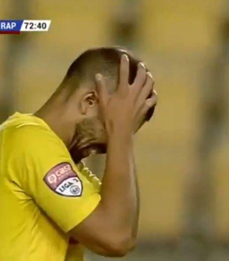 Un penalty loupé trois fois, le cauchemar des attaquants de Petrolul