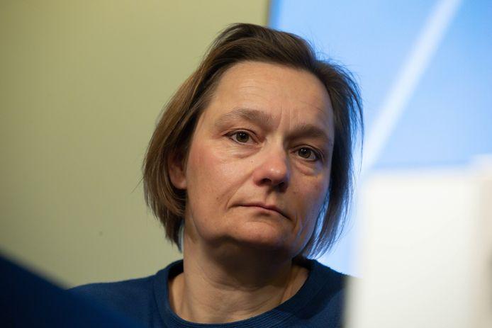 Erika Vlieghe, présidente du Groupe d'experts en charge du déconfinement